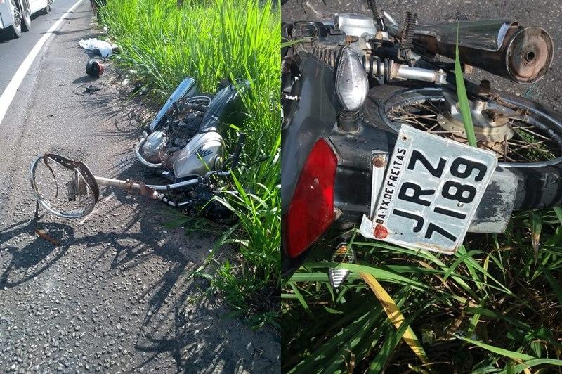 Acidente ocorreu em trecho da BR-101 no extremo sul do estado. (SulBahia News)
