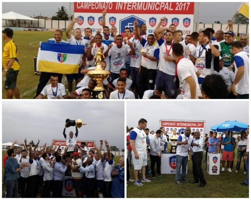 Seleção de Eunápolis fez história no Intermunicipal. (Imagem: Divulgação)