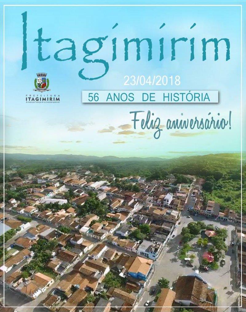 Município de Itagimirim comemora 56 anos (ASCOM)