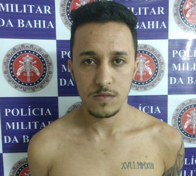 Eduardo Martins Rocha é acusado de vários crimes. (Divulgação/Polícia Militar)