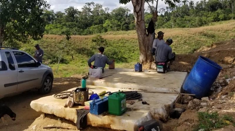 Segundo o MPT, no local não havia sanitários, nem abrigo para a chuva ou o sol na frente de trabalho. (Divulgação/MPT-BA)