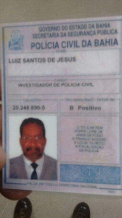 Policial assassinado (Divulgação)