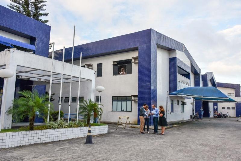 Hospital Luís Eduardo Magalhães, Porto Seguro. (Reprodução)
