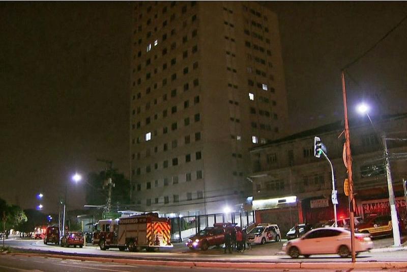 Prédio fica na Zona Oeste da capital paulista. (Foto: Reprodução/TV Globo)