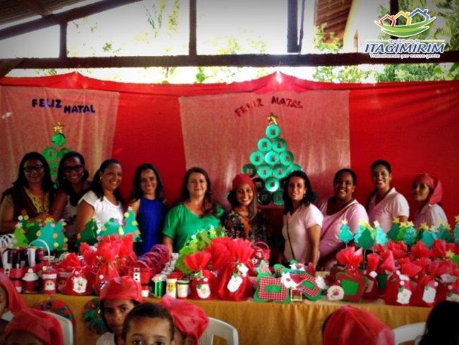 Evento contou com a presença da primeira-dama do município, Ercília Andrade. (Foto: Divulgação)