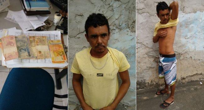 Roberto Junior da Silva, vulgo Betinho, foi preso com quase 8 kg de maconha em Itagimirim.