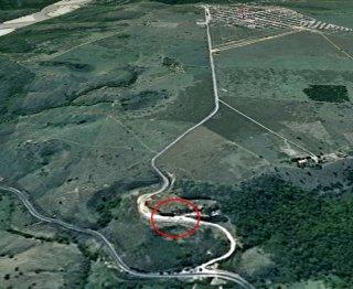 Local onde os bandidos renderam o gerente comercial e o taxista. (Imagem: Google)