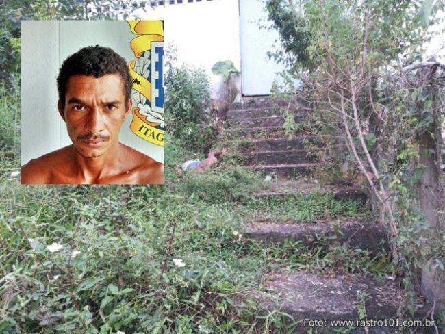 Corpo foi encontrado próximo à uma escadaria nos fundos do Ginásio de Esportes. (Foto: Rastro101)