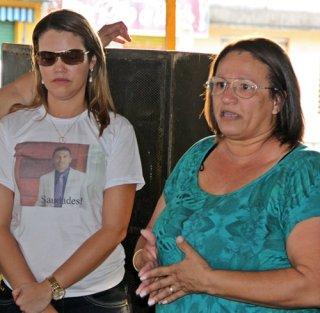 Irmã do prefeito disse que família não descansará enquanto não tiver respostas. (Foto: Rastro101)