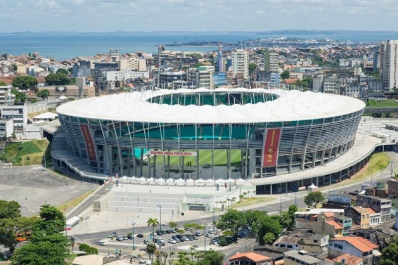 Estádio recebeu seis partidas da Copa do Mundo de 2014. (Imagem: Reprodução)