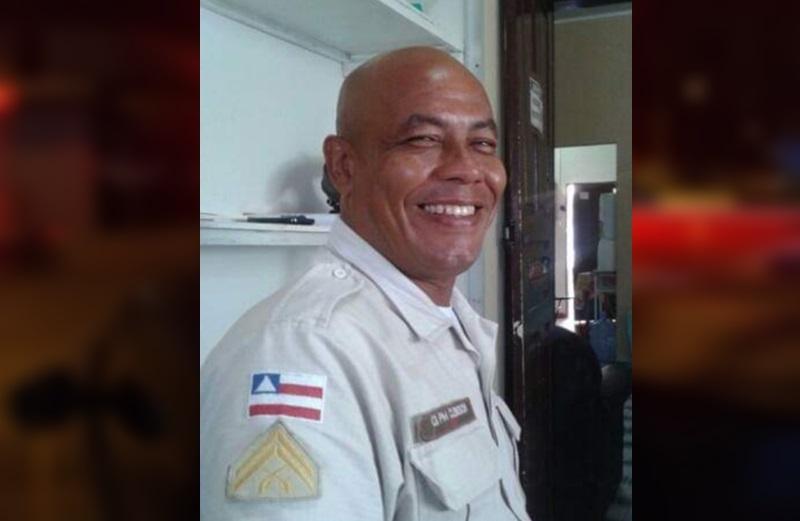 Sargento Clebison morreu em confronto com criminosos no último sábado (23) em Alcobaça, extremo sul da Bahia. (SulBahia News)