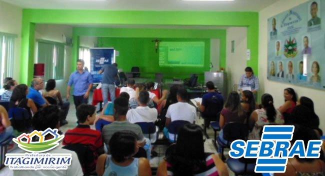 Curso é uma parceria da Prefeitura de Itagimirim e o SEBRAE. (Divulgação)