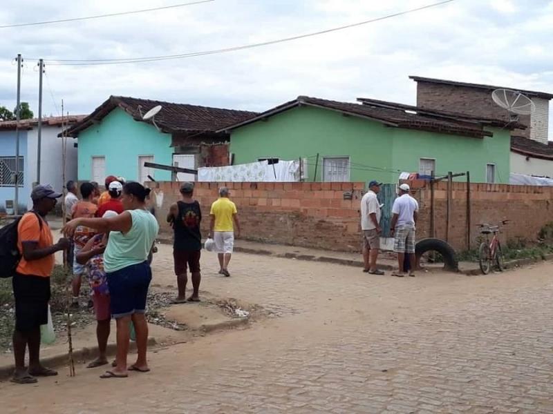 Foto do site Água Preta News
