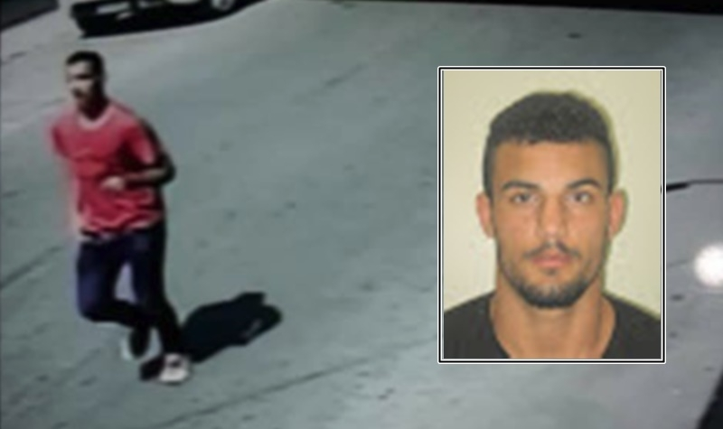 Suspeito já havia sido identificado pela polícia. (Reprodução: VIA41)