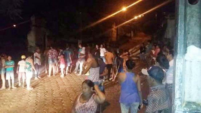 Acidente ocorreu durante aulas a noite. Fonte: site Sulbahia news.