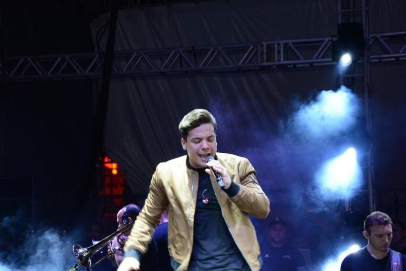 Wesley Safadão levou o público ao delírio (SECOM-PME)
