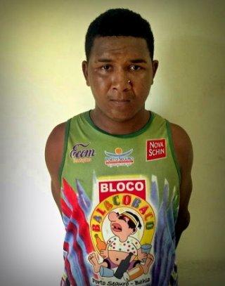 Ciclone é acusado de homicídio em Posto da Mata. Ao ser preso, ele portava crack e maconha. (Foto: Blog do Romildo)