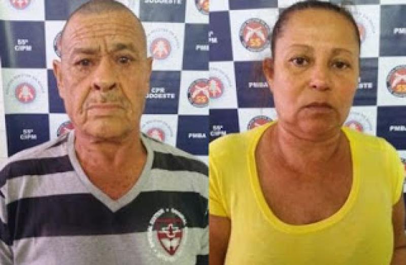 Casal foi preso no mesmo dia, mas em ações diferentes da polícia. (Divulgação)