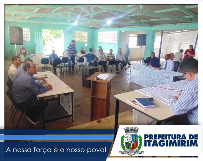 Sessão Solene foi realizada no distrito de União Baiana. (ASCOM)