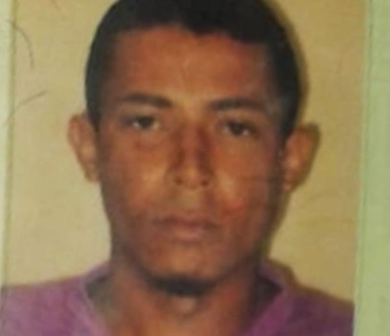 Imagem do homem morto na ação criminosa. (Divulgação)