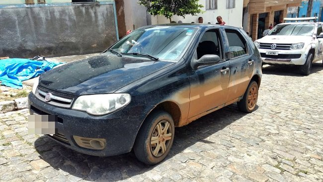 Suspeitos estavam em um veículo que seguia para Eunápolis. (Foto: Rastro101)