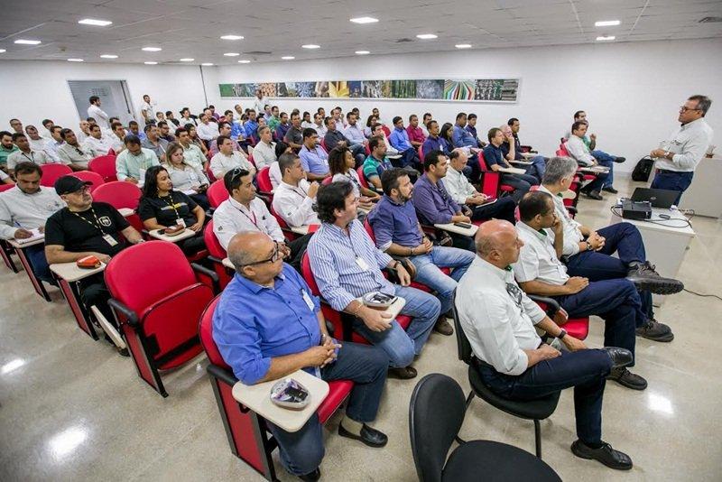 O evento aconteceu no dia 09/12 e reuniu gestores da Veracel e das empresas parceiras que fazem parte do seu negócio. (ASCOM/VERACEL)