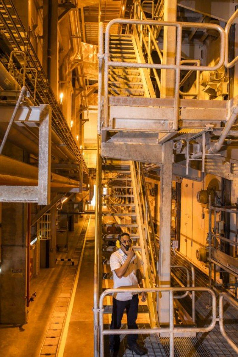 Área interna da fábrica (Divulgação)