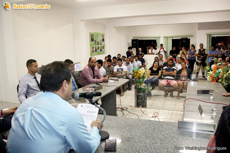 Sessão Ordinária foi realizada na noite desta segunda-feira. (Rastro101/TIM)
