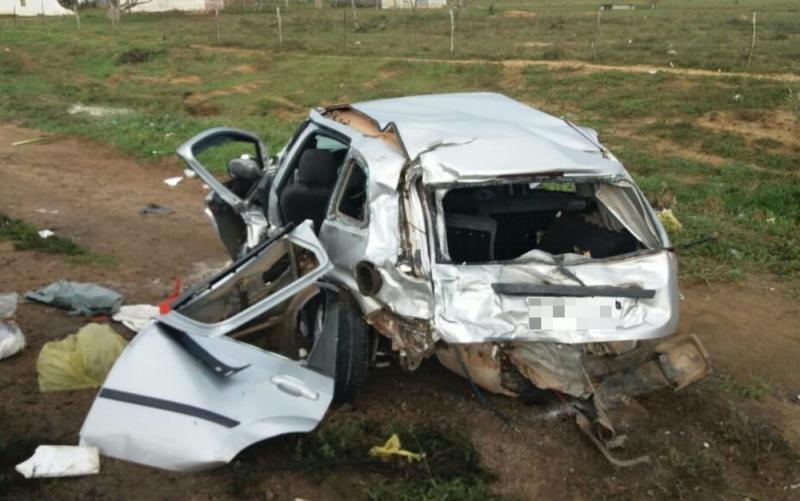 Veículo ficou totalmente destruído. (Itiruçu Online)