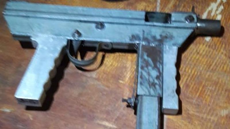 Arma apreendida na ação. (Divulgação: Polícia Militar)