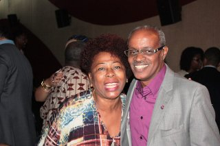 Arany Santana (diretora do Centro de Culturas Populares e Identitárias) e Zulu Araújo (Foto: facebook/fpedrocalmon)
