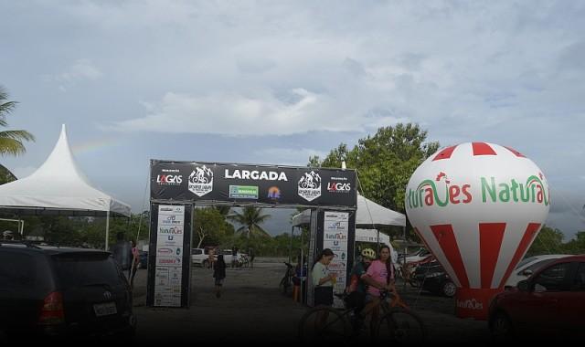 Empresa Naturaves apoia competição de ciclismo na região